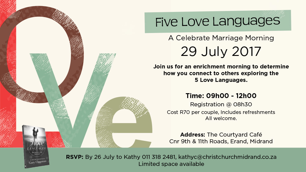 5 Love Languages July