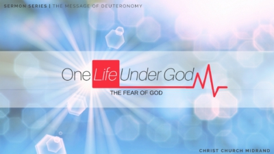 One Life Under God - The Fear of God