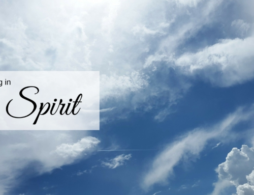 "3 ways we can ""pray in the Spirit"""