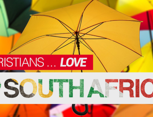 Christians! Let's love South Africa