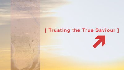 Trusting the True Saviour Cover Image