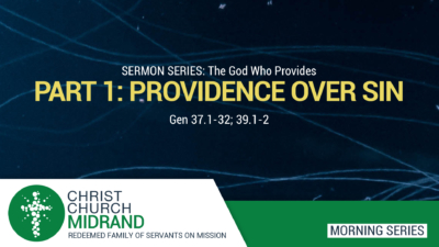 Providence Over Sin - The God Who Provides - Roydon Frost