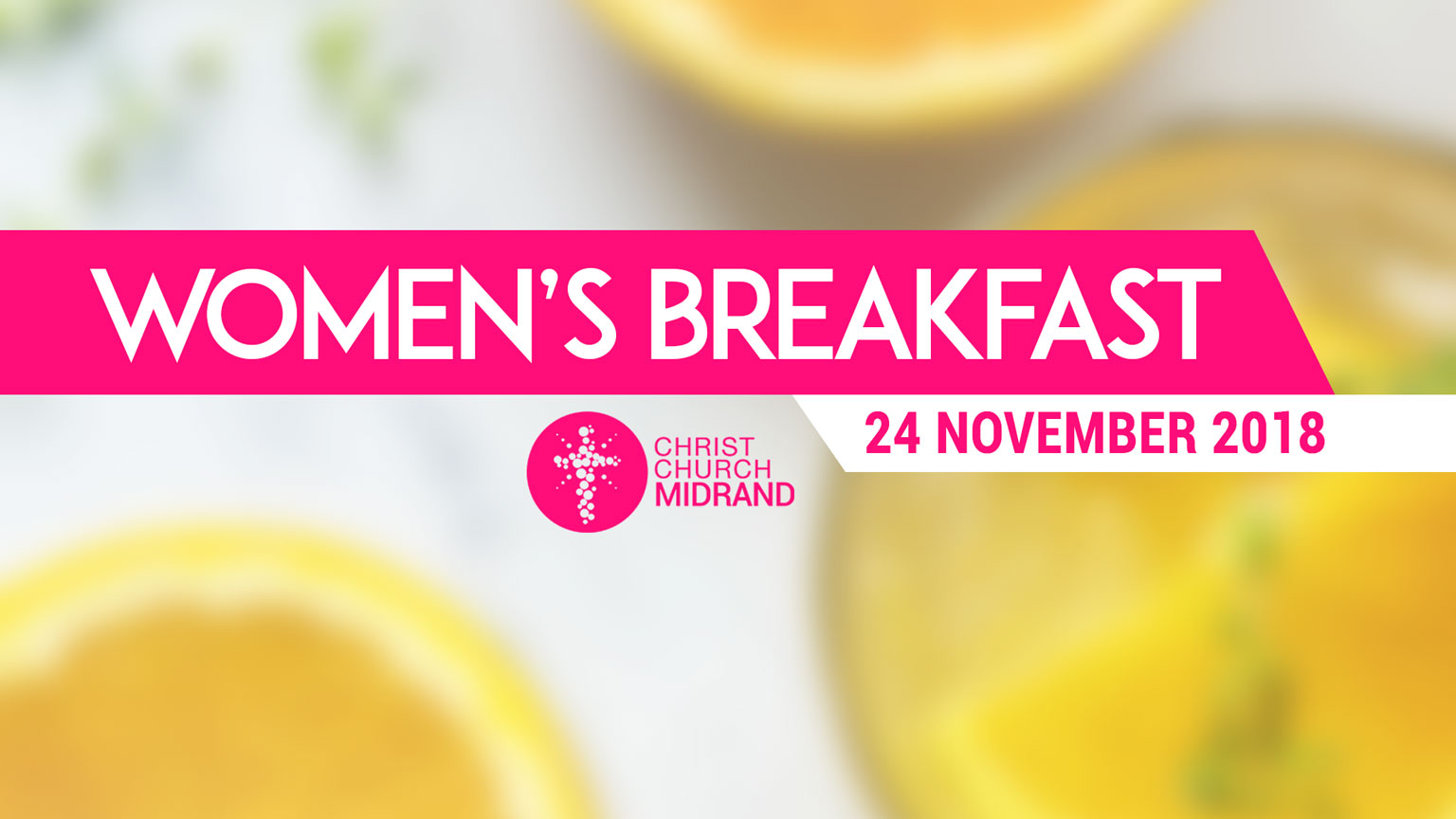 Women's Breakfast November 2018 Rosie Moore