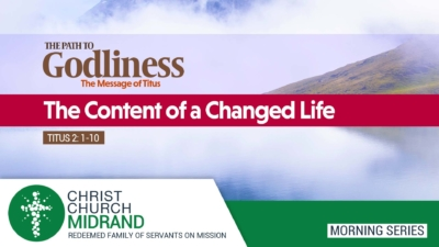 The Content of a Changed Life Website Image