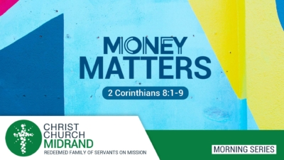 Money Matters Sermon Website