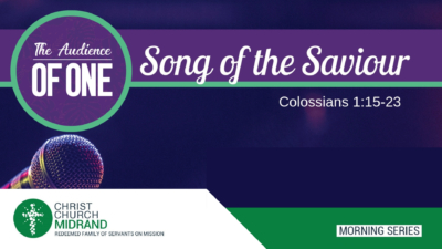 Song of the Saviour