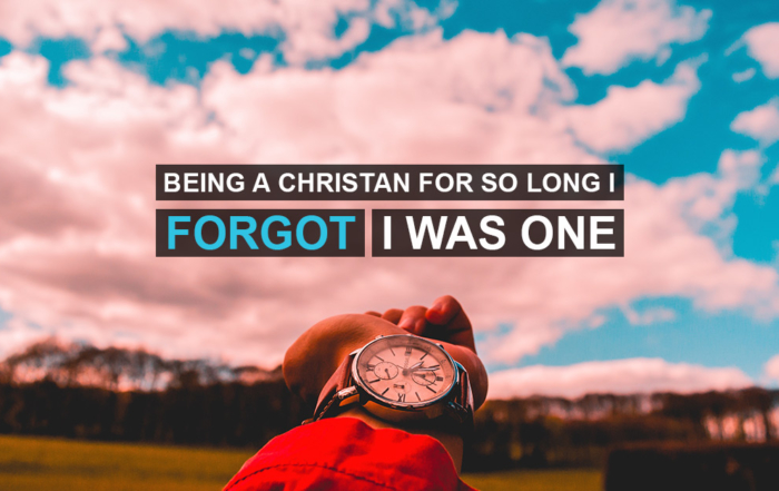 Being A Christian So Long I Forgot I Was One - Person Walking with back to the camera