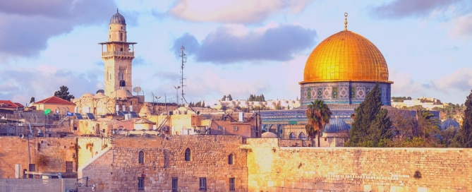 Jerusalem City Featured Image and Background