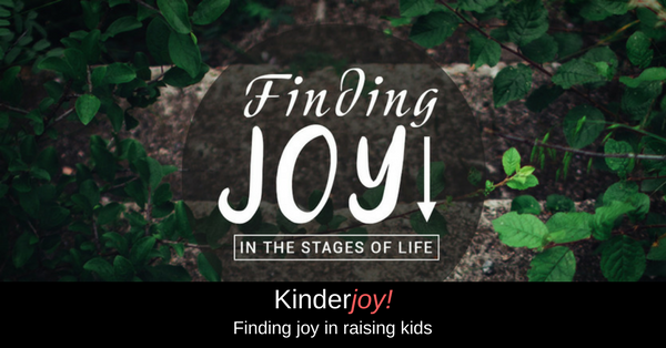 Kinderjoy - Finding joy in the Lord as we raise our children