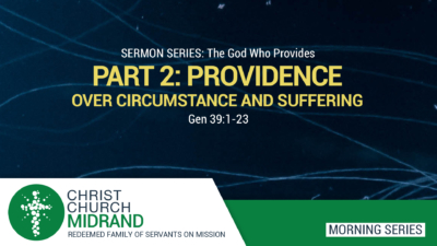 The God Who Provides - Roydon Frost - Genesis 39.1 - 23