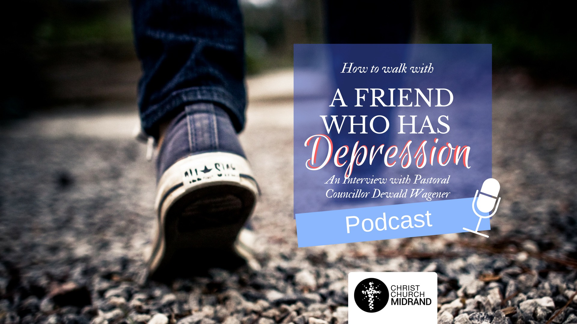 How to Walk with a Friend who has Depression
