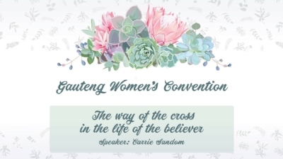 Gauteng Women's Convention - Design for Website and Podcast Final