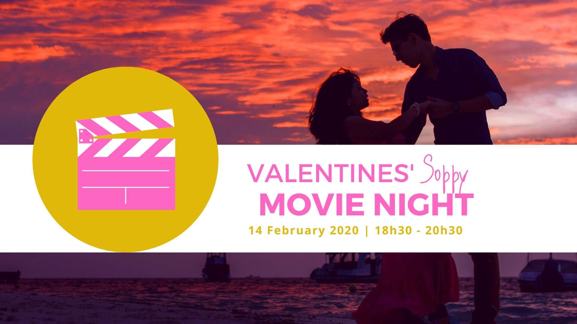 Romantic People Dancing Movie Night Main Image