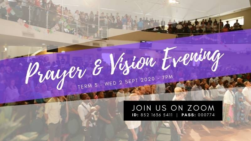 Prayer and Vision Feature Image Slide