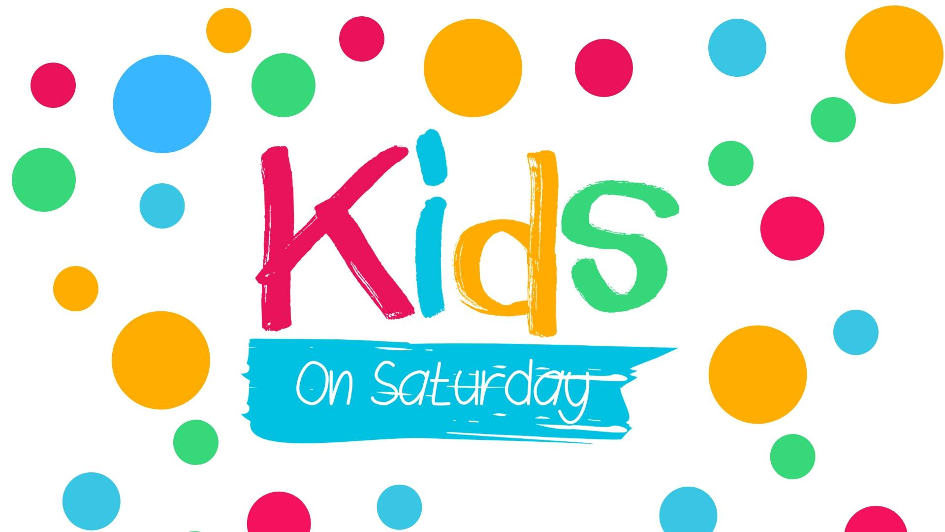 Kids on Saturday Website Main Image