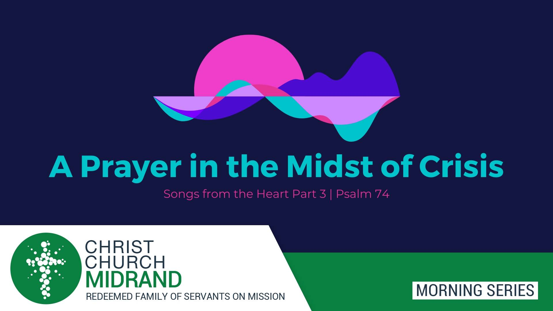 Prayer in the Midst of Crisis Feature Website image