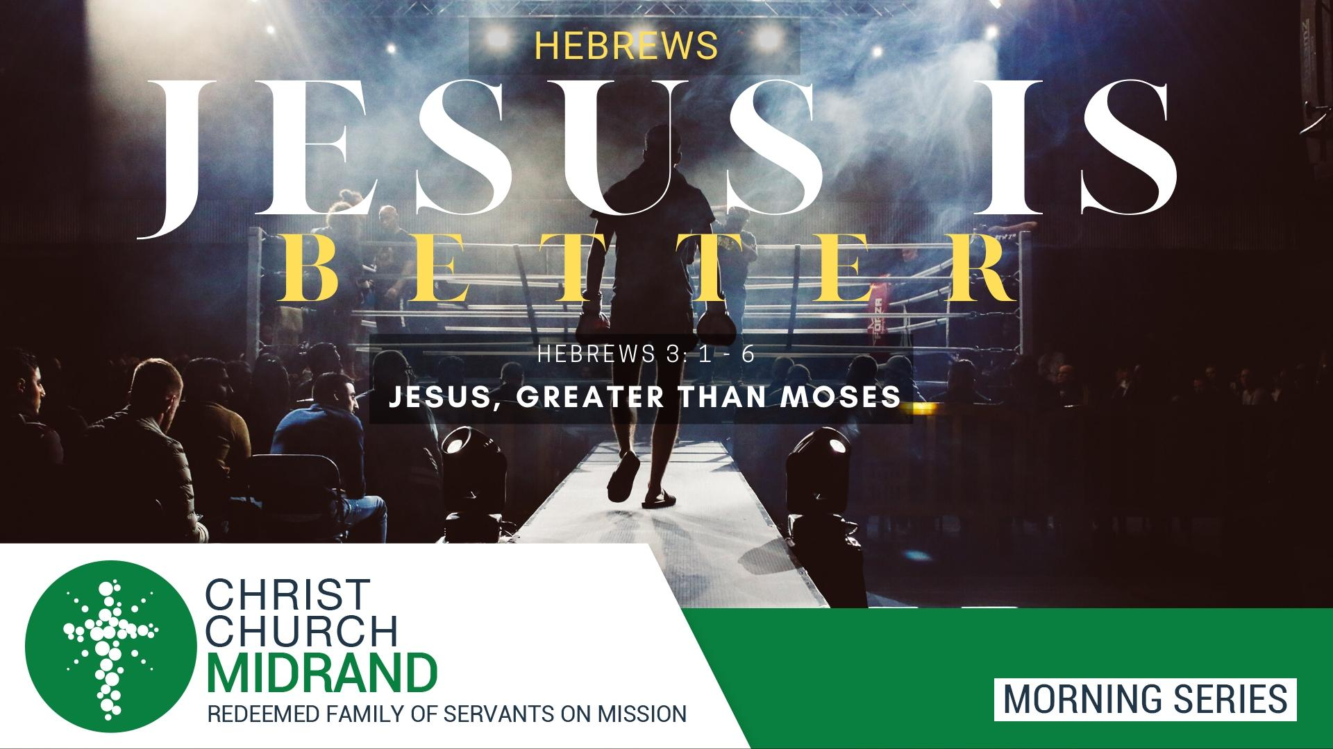 Jesus is Better Morning Service Youtube and Website
