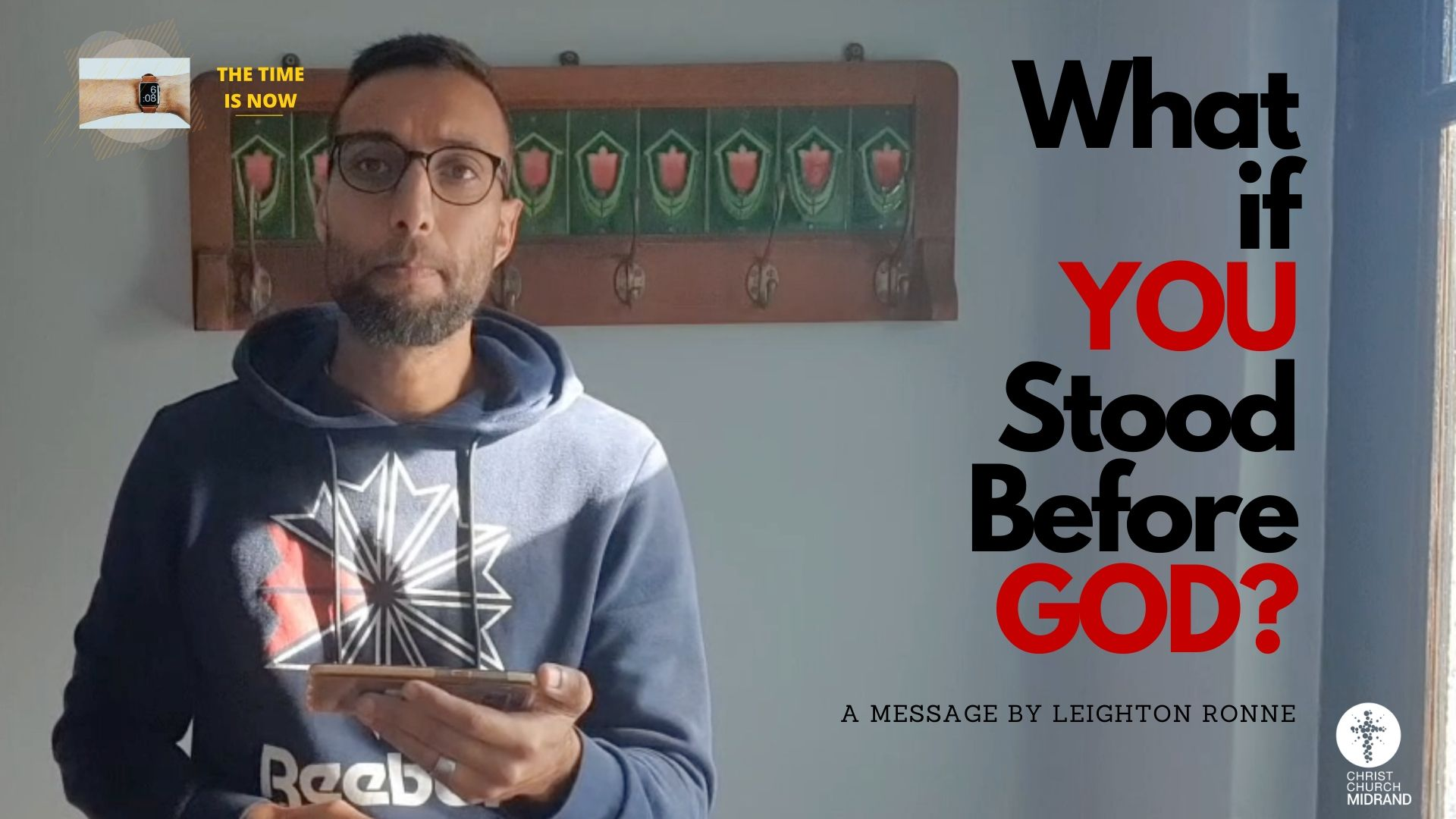What if YOU Stood Before GOD Leighton Ronne WEBSITE