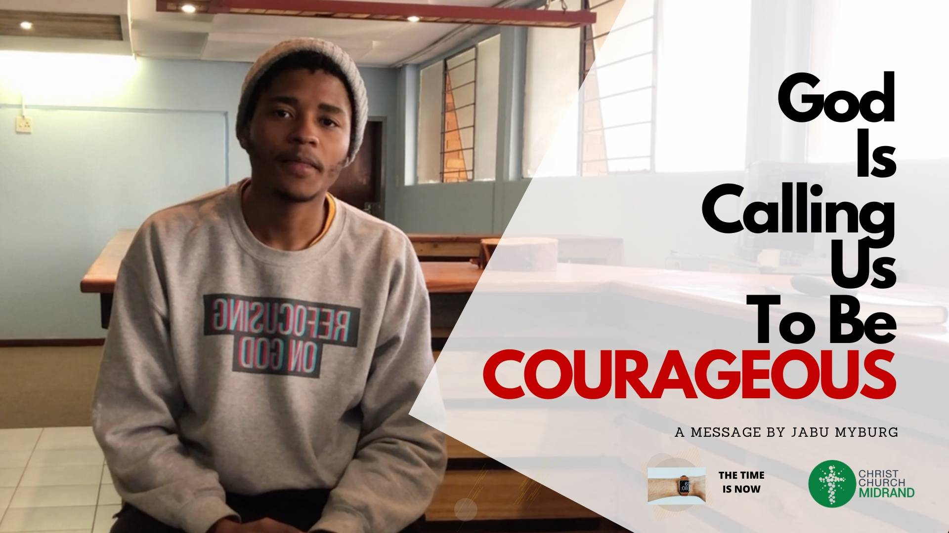 God is Calling Us to Be Courageous WEBSITE