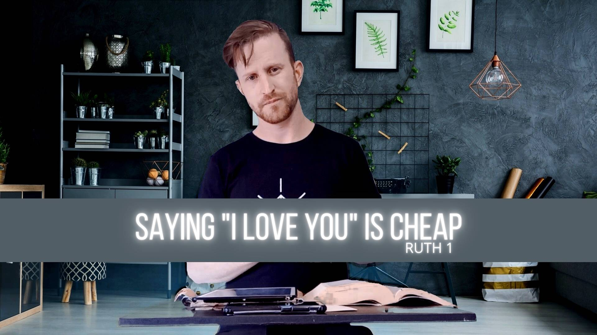 Why Saying I love you is cheap